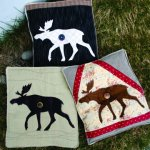 Moose Crossing applique Pattern