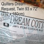Quilters Dream Request, bomullsvatt twin size pakke