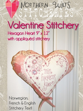 Valentine Stitchery Heart, pattern